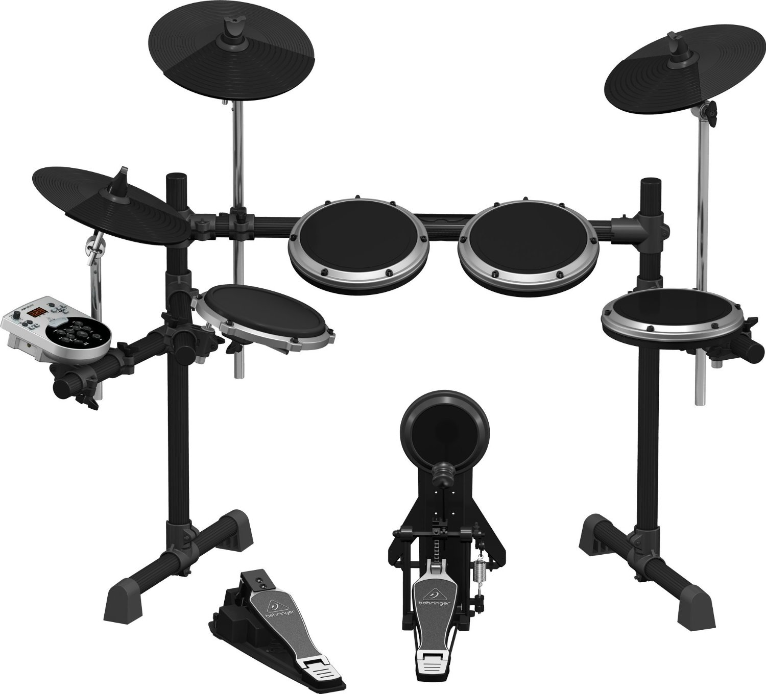 Behringer XD8USB 8-Piece Electronic Drum Set w/123 Sounds, 15 Drum Sets and USB Interface