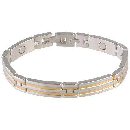 Sabona Two Tone Steel Magnetic Bracelet Sabona Rope Bracelet