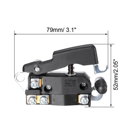 Electric Hammer Trigger Switch for Leiya 30 AC250V 12A Tool Power Speed Control - image 2 of 3