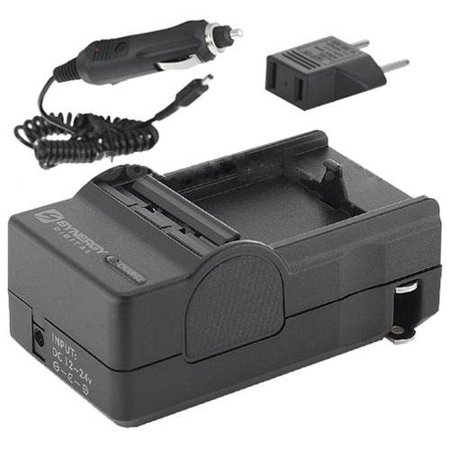 Nikon D3100 Digital Camera Battery Charger (110/220v with Car & EU adapters) - Replacement Charger for Nikon MH-24 Charger (Nikon D3100 Camera Charger)