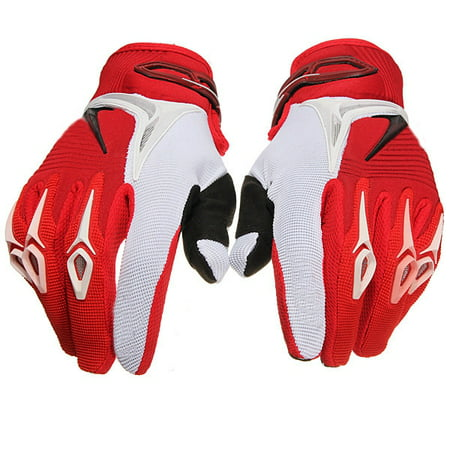 One Pair Full Finger Gloves Motorcycle Riding ATV Racing Cycling Gloves MTB Riding Bike (Best Mtb Enduro Gloves)