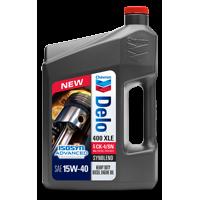 Chevron Delo 400 XLE SAE 15W-40 with ISOSYN Advanced Technology, 1 Gallon