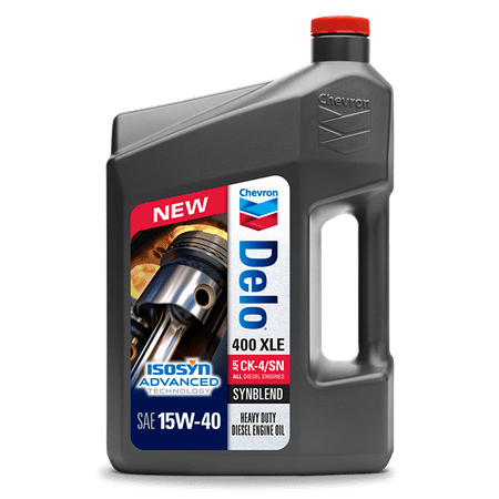Delo 400 XLE 15W40 Synthetic Blend, 1 Gallon Jug ()