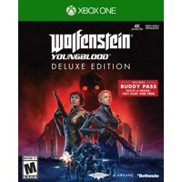 Wolfenstein Youngblood Deluxe Edition, Bethesda Softworks, Xbox One, 093155174801