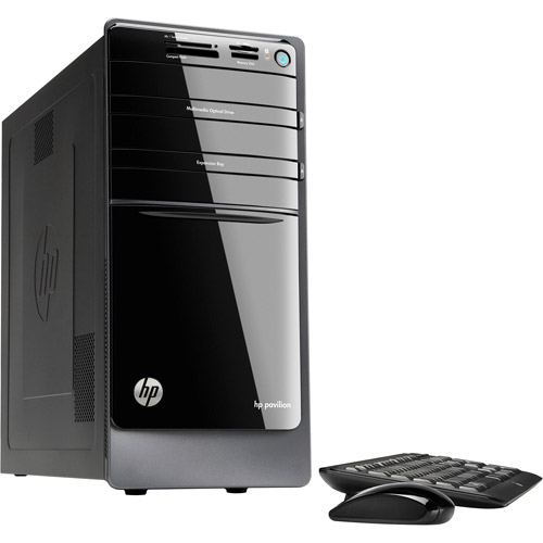 HP Black Pavilion P7-1510 Desktop PC with Intel Core i3-3220 Processor, 8GB Memory, 1.5TB Hard Drive and Windows 8 Operating System (Monitor Not Included)