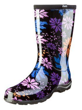 Sloggers Women's Rain & Garden Boot - Flower Power Print