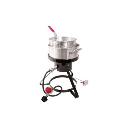 Classic propane fish cooker with 10 quar for Fish cooker walmart