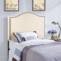 Modway Curl Nailhead Upholstered Headboard, Multiple Sizes and Colors