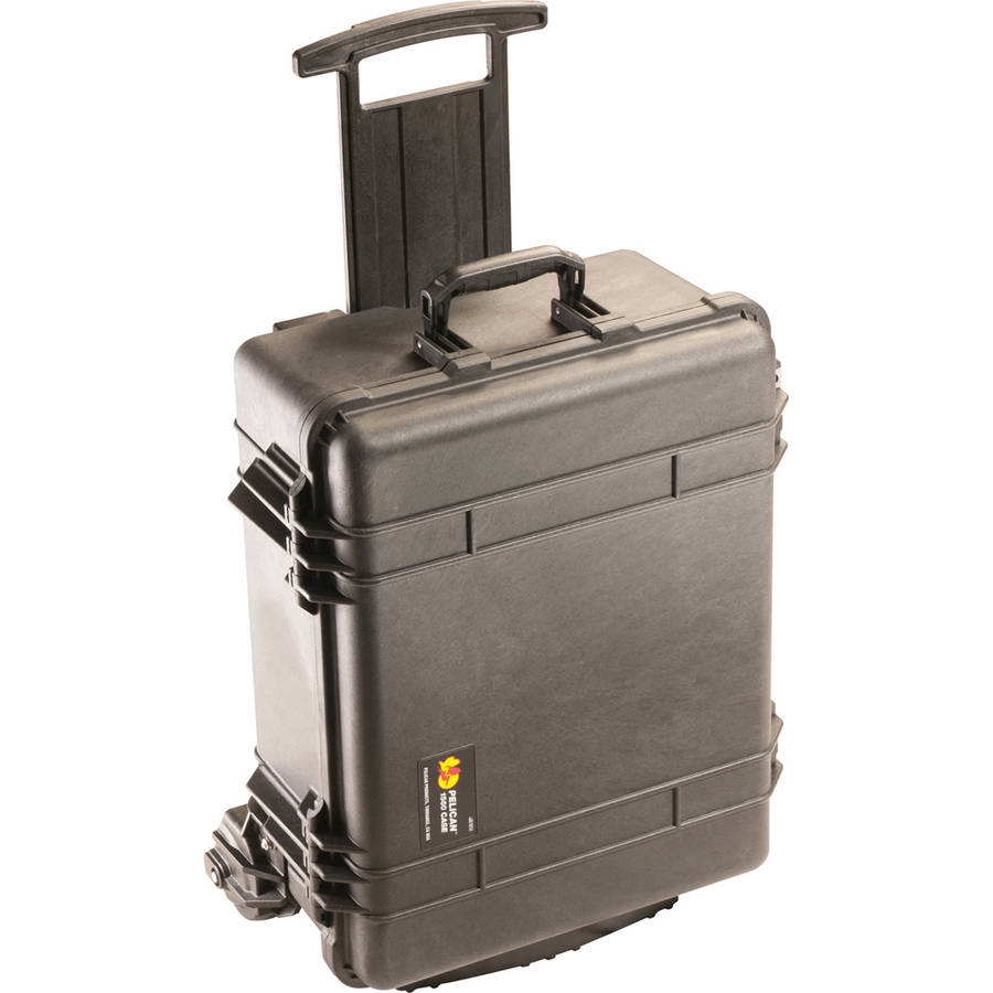 "Pelican 1560M Shipping Case - Internal: 19.92"" x 14.98"" x 9"" - Black"