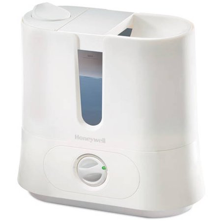 Honeywell fáciles de cuidar extraíble Top Rellena humidificador ultrasónico, Blanco, HUL570W