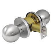 CORBIN CK4255 GRC 626 Door Knob Lockset, Round, Classroom