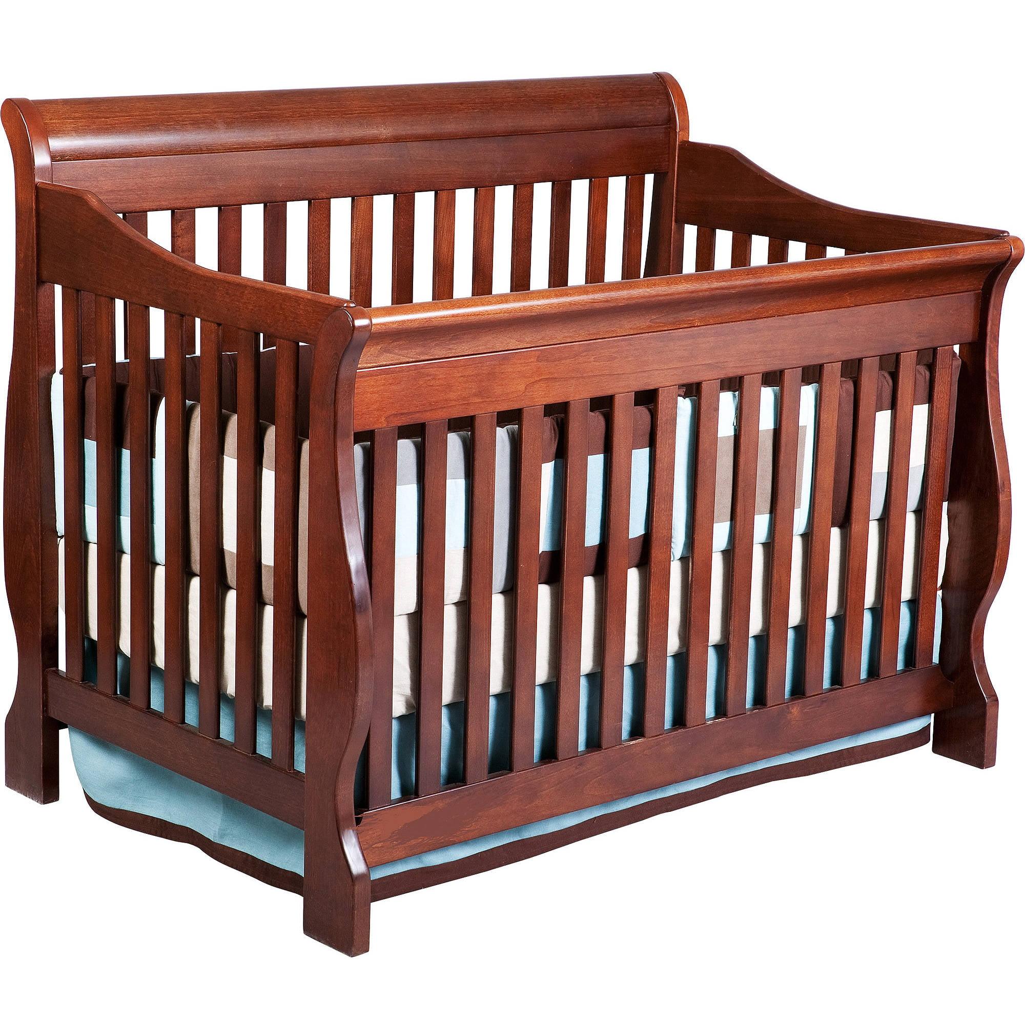Delta Children Canton 4-in-1 Convertible Crib Cherry