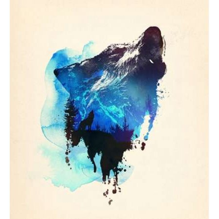 Alone As a Wolf Poster Print by Robert Farkas](Home Alone Poster)