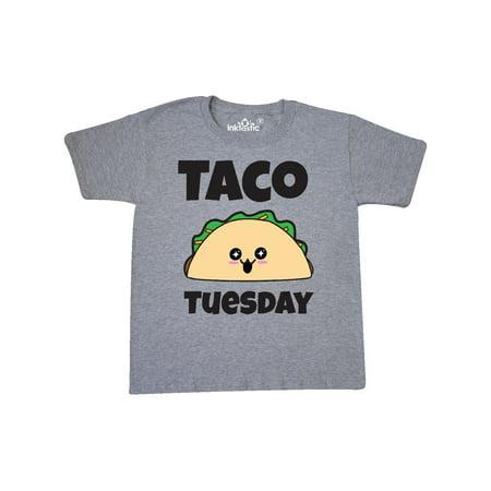Kawaii Taco Tuesday Youth T-Shirt - Female Taco