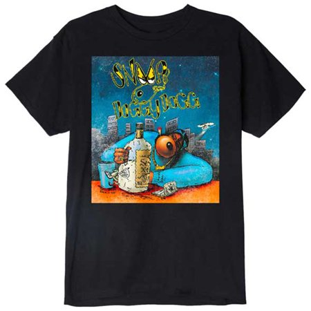 Snoop Dogg Men's Gin and Juice Cartoon T-Shirt (Snoop Dogg Clothing Line Rich & Famous)