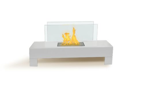 Anywhere Fireplace Gramercy Indoor Outdoor Fireplace- White by