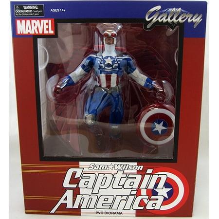 Marvel Gallery 10 Inch Statue Figure Marvel Comics - Sam Wilson Captain  America