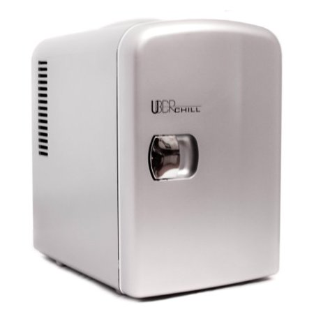 Uber Liance Ub Ch1 Chill Mini Fridge 6 Can Portable Thermoelectric Cooler And