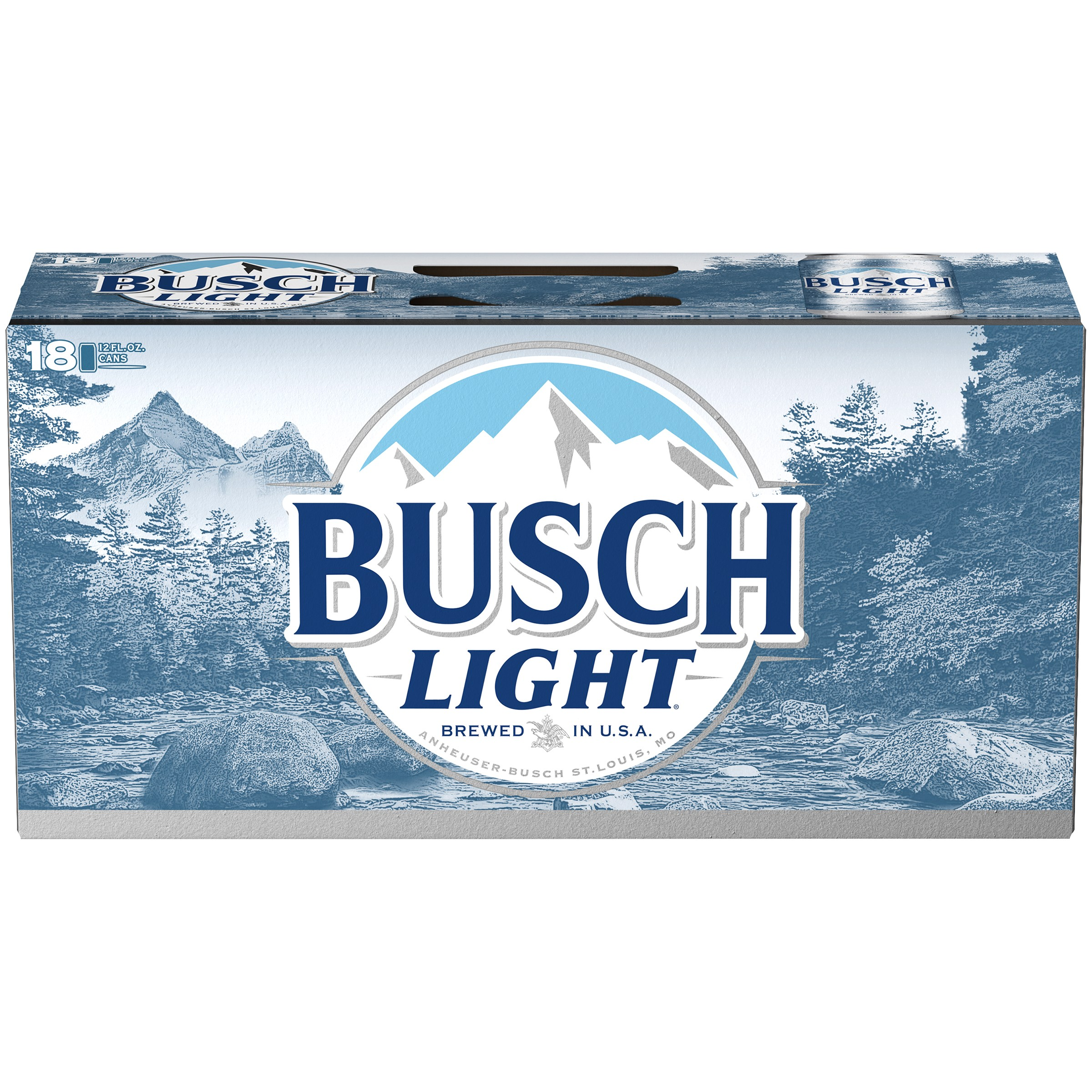 Busch Light Beer, 18 pk 12 fl. oz. Cans
