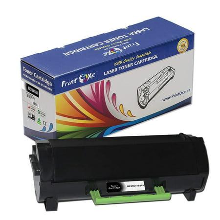 PrintOxe® 60F1000 Compatible Toner MX310 / 410 / 510 601H for Lexmark MX310dn, MX410de, MX510de, MX511de, MX511dte, MX511dhe, MX511de, MX610dw, MX611de, MX611dhe, MX611dte - image 1 of 1