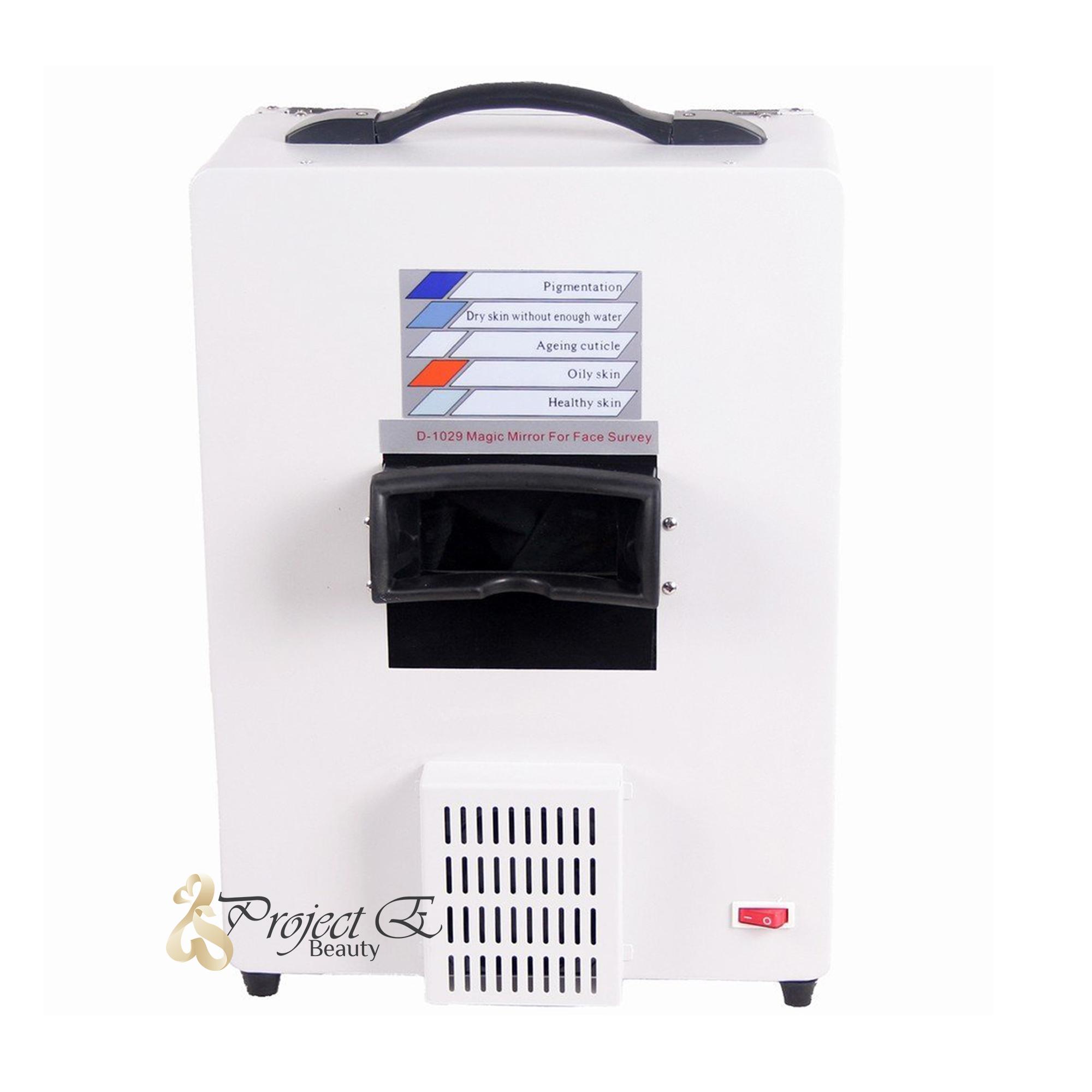 Project E Beauty Facial Skin Analyzer Scanner Skin Scope Diagnosis Detector Machine Rs2 Care Cream  50ml/1.7oz