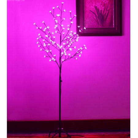 Strong Camel 5ft 108 LED Cherry Blossom Flower tree Christmas Light Tree Home Garden/Wedding/Birthday/Christmas//Party Decoration ()