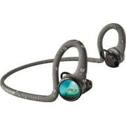 Plantronics Backbeat FIT 2100 Ultra Stable Rugged Sweatproof Waterproof Wireless In-Ear Sports Headphones, Gray (New Open Box)
