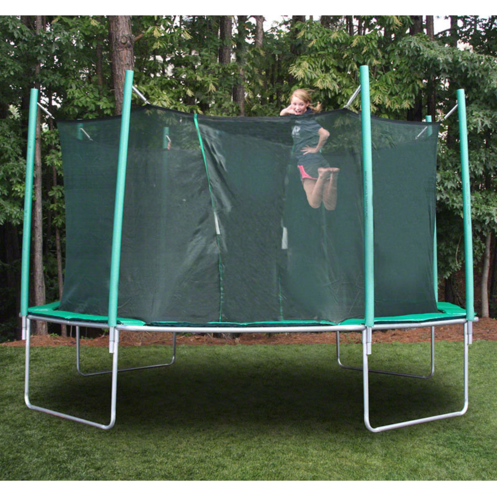 SportsTramp Extreme 16 ft. Octagon Trampoline with Detachable Cage