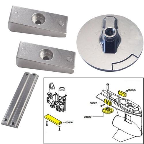 Tecnoseal Anode Kit with Hardware - Mercury Verado 4 - Magnesium 20814MG