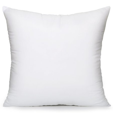 Acanva Soft Hypoallergenic Decorative Throw Pillow Insert, 18