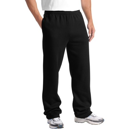 Sport Nts Bottom (Sport-Tek Men's Comfort Waistband Open Bottom Sweatpant )