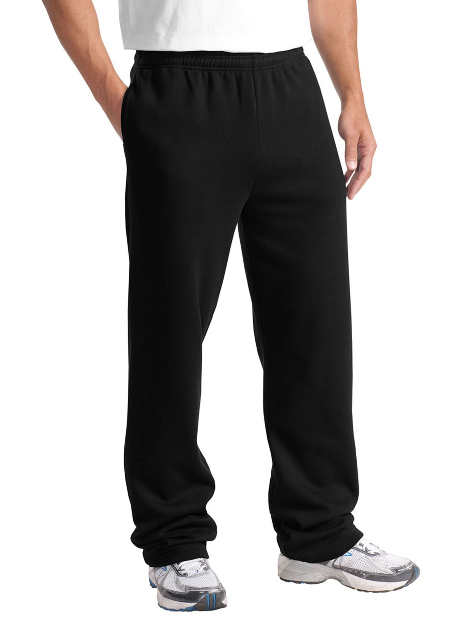 Sport-Tek Men's Comfort Waistband Open Bottom Sweatpant
