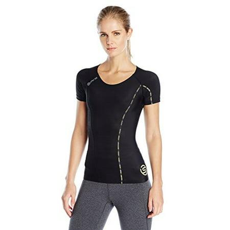 4441d9ad44dc64 SKINS - SKINS Women's DNAmic Compression Short sleeve Top - Walmart.com