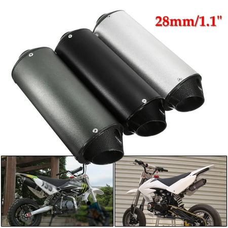 28mm Muffler Exhaust Pipe Clamp 50cc 110cc 125cc 150 PIT PRO Quad Bike Dirt