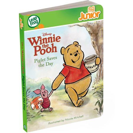 LeapFrog LeapReader Junior Book: Disney's Winnie the Pooh: Piglet Saves the Day (works with Tag (Leapfrog Tag Reading System For Schools 64mb)