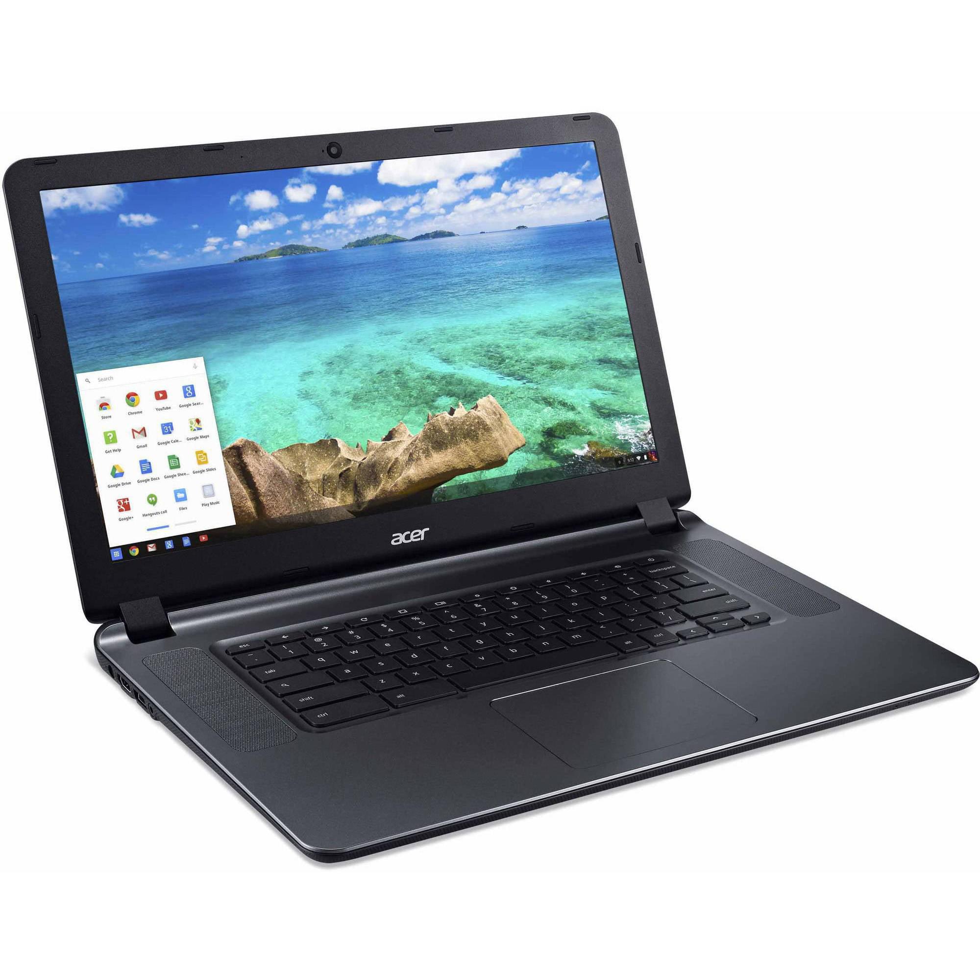 Refurbished Acer CB3-532-C47C 15.6 Chromebook Intel Celeron N3060 1.60 GHz 2GB RAM 16GB eMMC