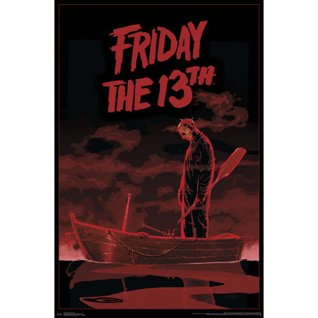 Friday the 13th - Boat Poster