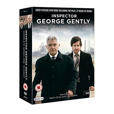 Inspector George Gently (Complete Series 1-8) - 17-DVD Box Set ( Inspector George Gently - Complete Series One thru Seven (23 Episodes) ) [ NON-USA FORMAT, PAL, Reg.0 Import - United Kingdom ] - Martin Halloween Episodes