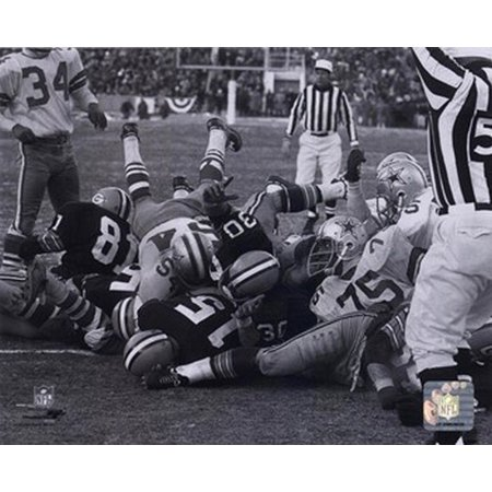 Bart Starr 1967 Ice Bowl Touchdown Sports Photo Bart Starr Ice Bowl