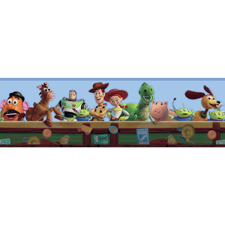 Disney Kids III Toy Chest Border
