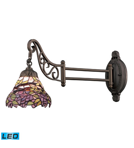 Wall Sconces 1 Light LED With Tiffany Bronze Finish 24 inches 13.5 Watts - World of Lamp