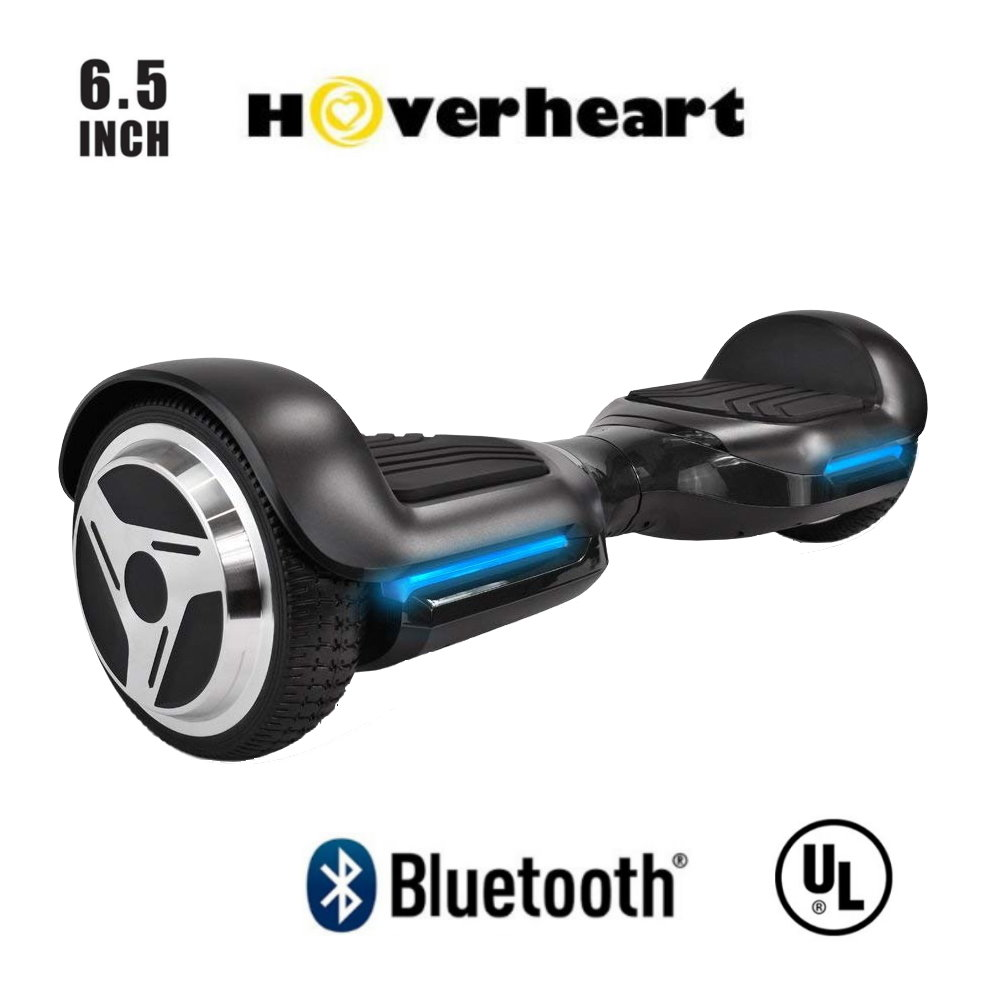 """Hoverheart 6.5"""" Premium Bluetooth Hoverboard Self-Balancing Wheel Electric Scooter UL 2272 List-Blue"""