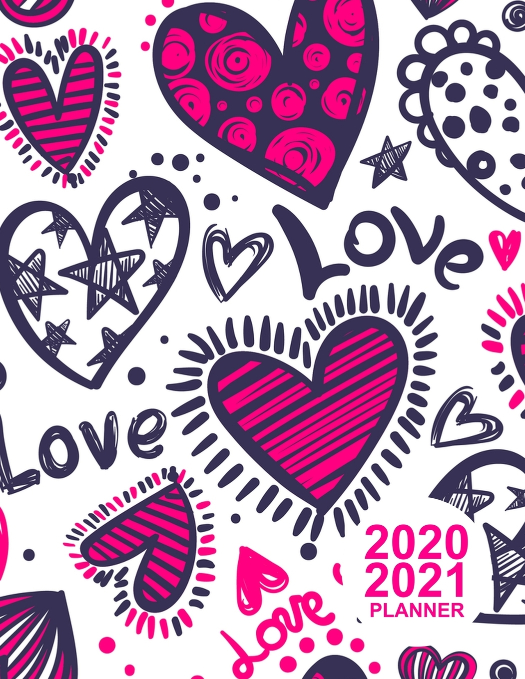 2020 2021 Planner: Simple Two Year Monthly Pocket Calendar ...