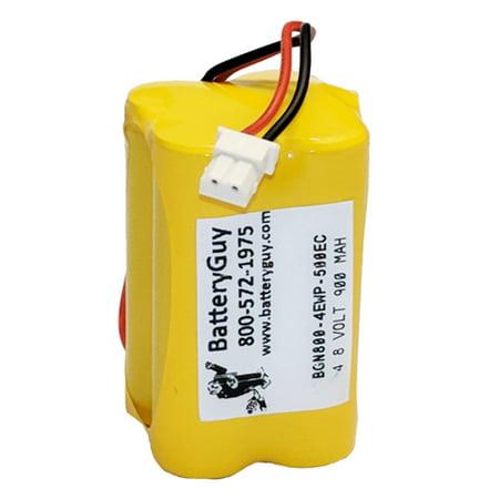 - nickel cadmium battery 4.8v 800mah with 500ec connector | bgn800-4ewp-500ec (rechargeable)