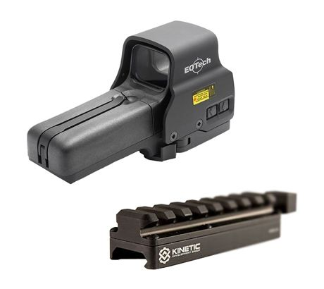 EOTech Holographic Weapon Sight, Non-Night Vision Compatible 518.A65 w  Kinetic by Eotech