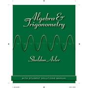 Algebra & Trigonometry: With Student Solutions Manual (Paperback)
