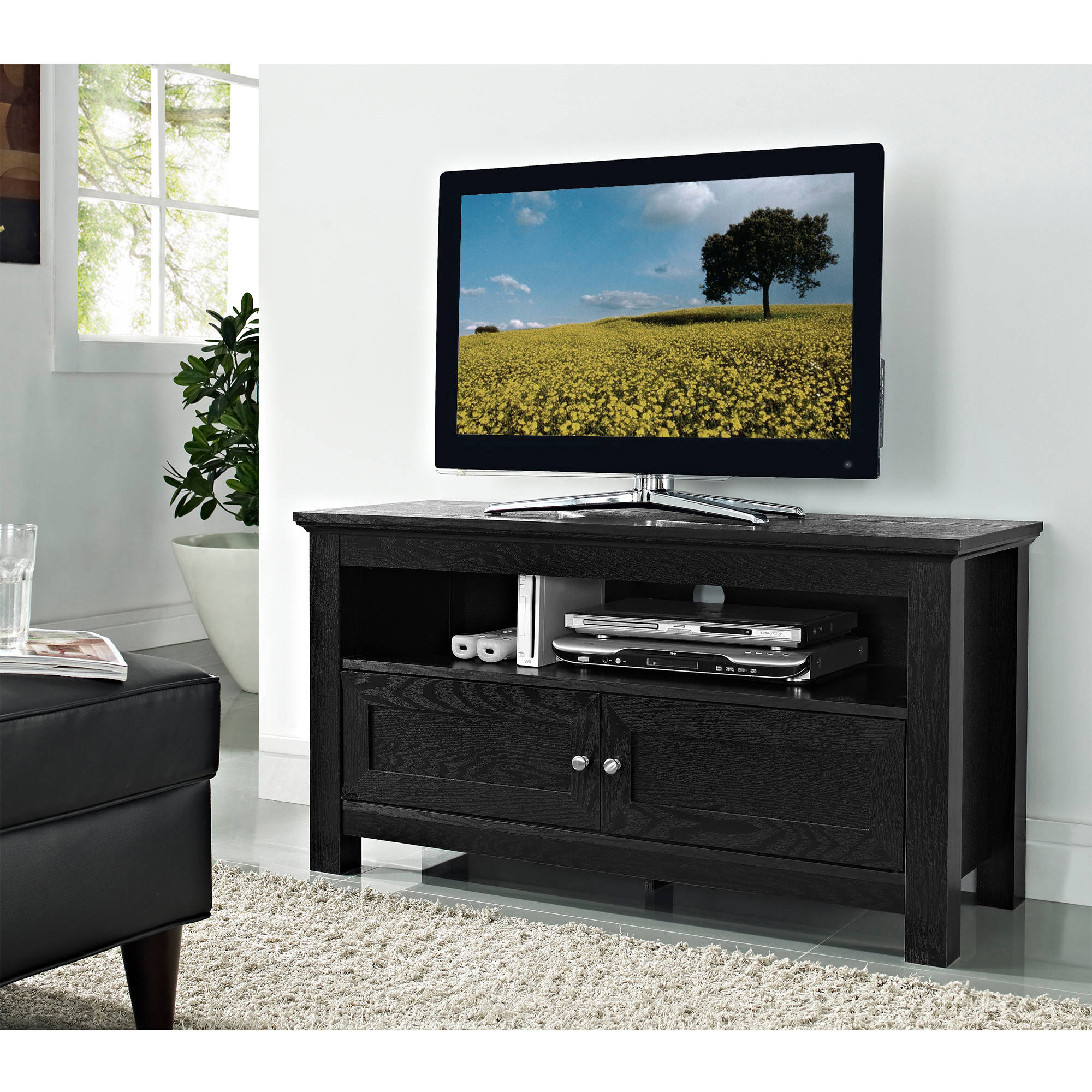 Sauder Edge Water Tall Tv Stand For Tvs Up To 45 Quot Estate