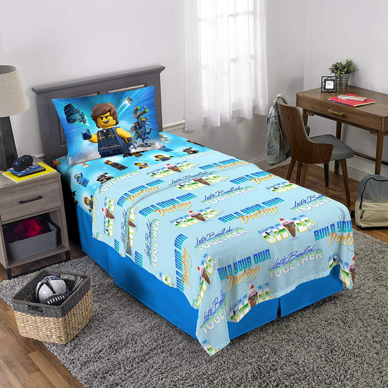 LEGO Movie 2 Kids 3 Piece Twin Sheet Set