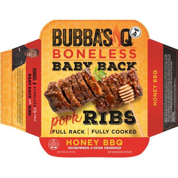 Bubba's Q Boneless Ribs Honey BBQ