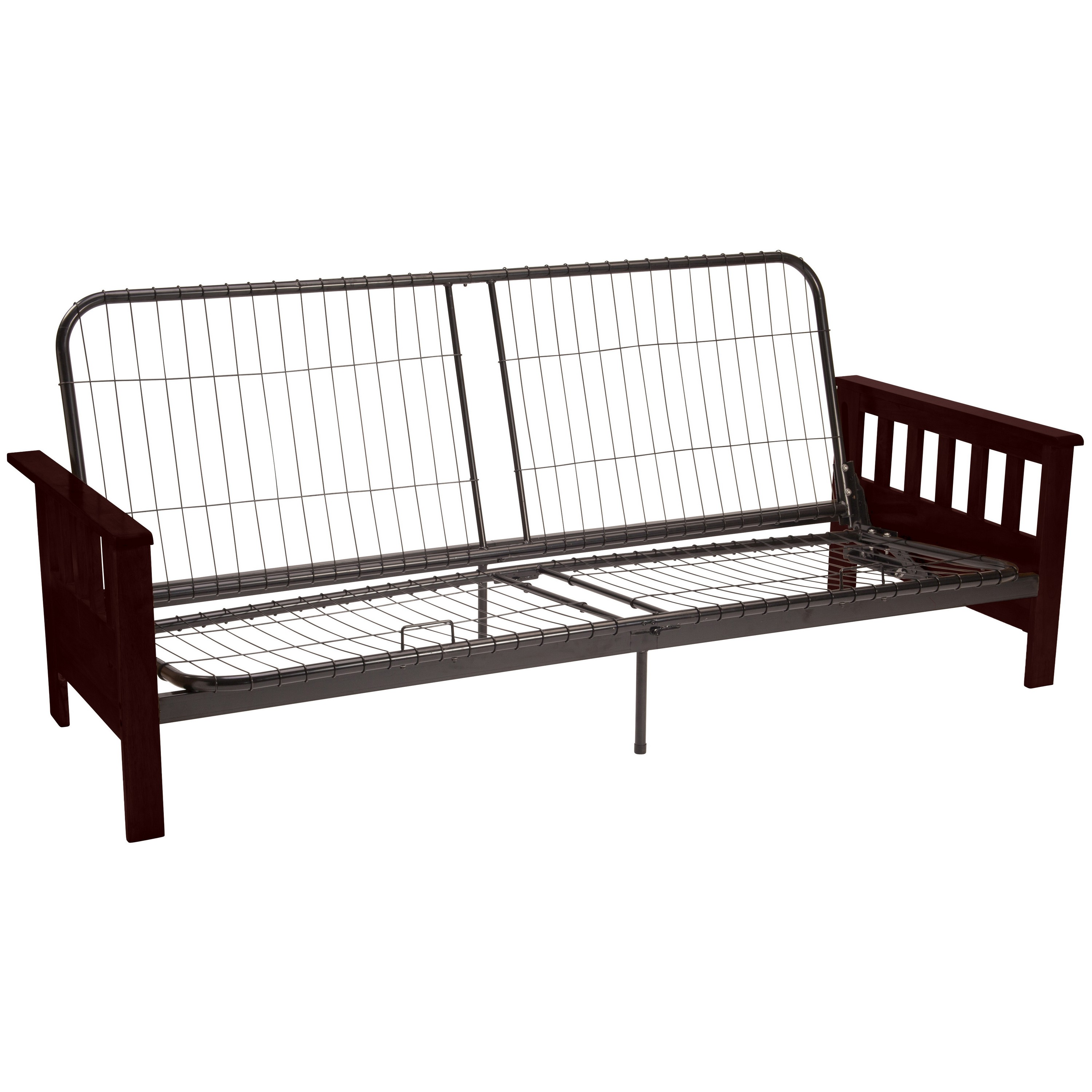 Arts & Crafts Mission Futon Frame, Multiple Sizes and Colors